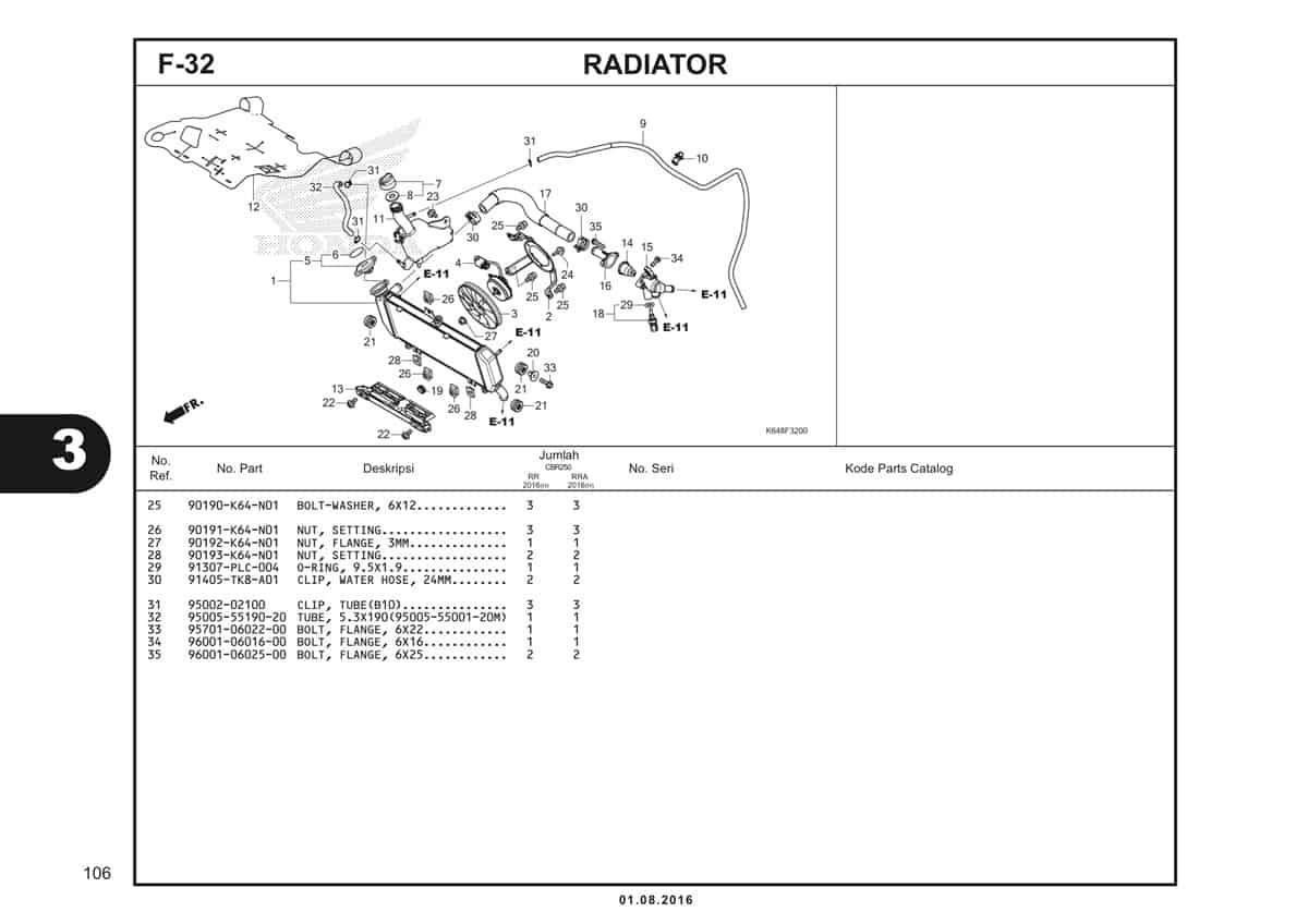 F32 Radiator 2