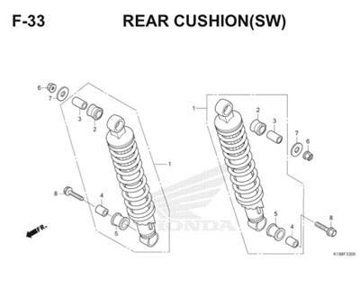 F33 Rear Cushion Thumb