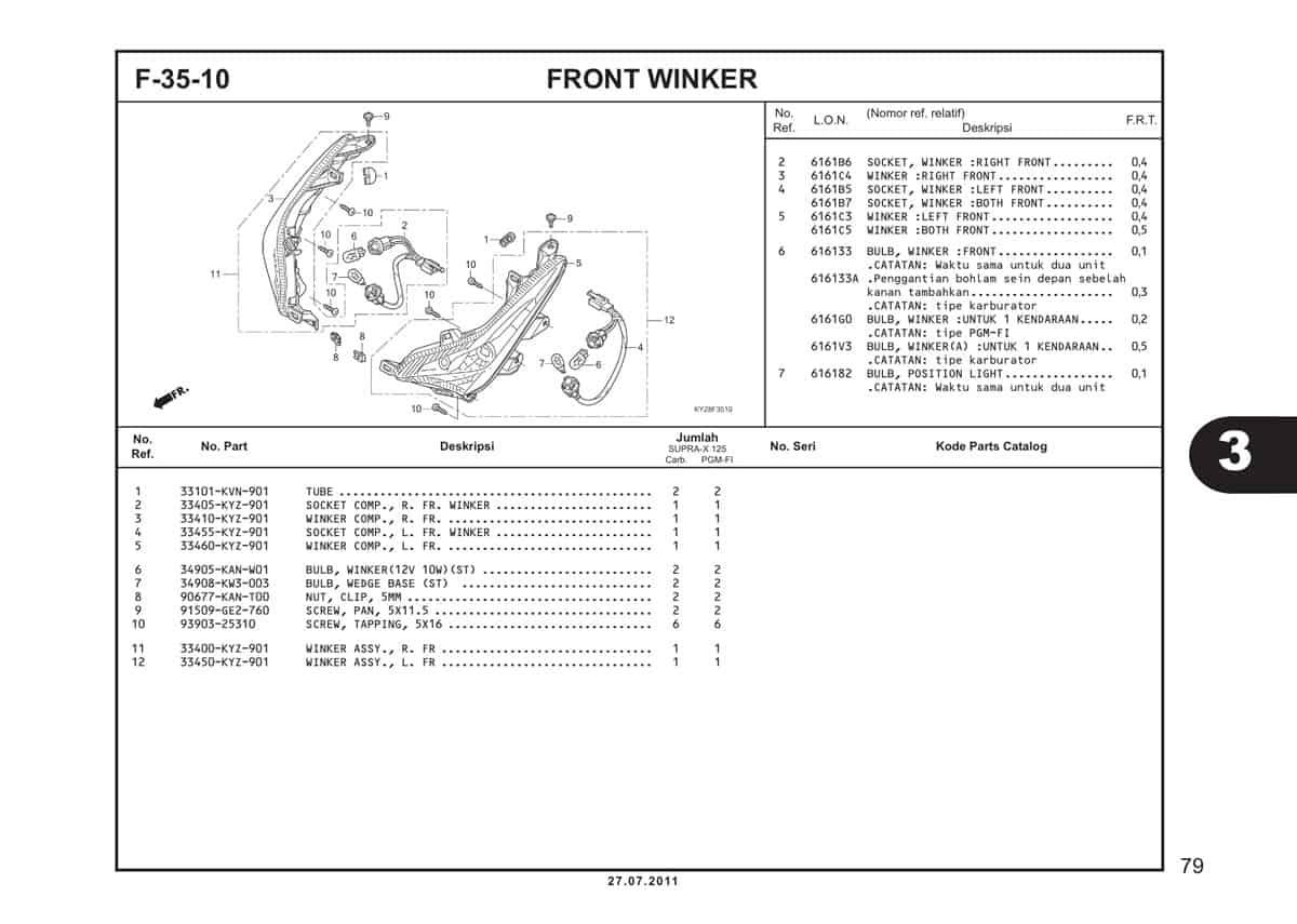 F35 10 Front Winker