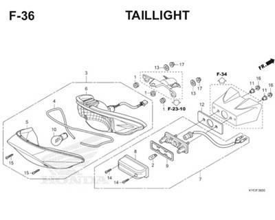 F36 Taillight Thumb