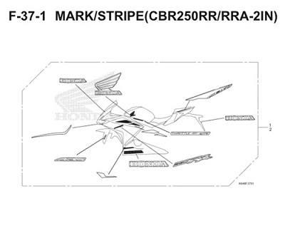 F37 1 Mark Stripe Thumb
