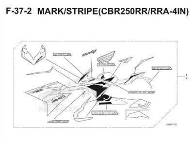 F37 2 Mark Stripe Thumb