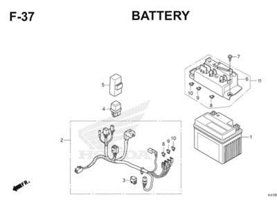 F37 Battery Thumb