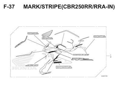 F37 Mark Stripe Thumb