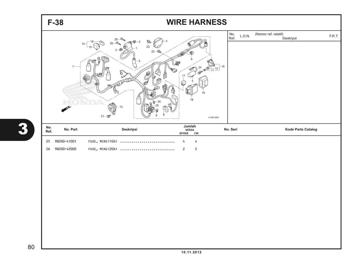 F38 Wire Harness 2