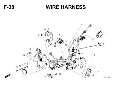F38 Wire Harness Thumb