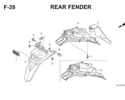 F39 Rear Fender Thumb