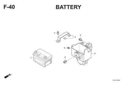 F40 Battery Thumb