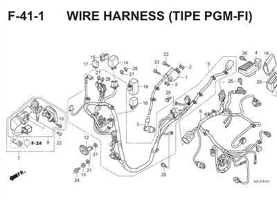 F41 1 Wire Harness Thumb