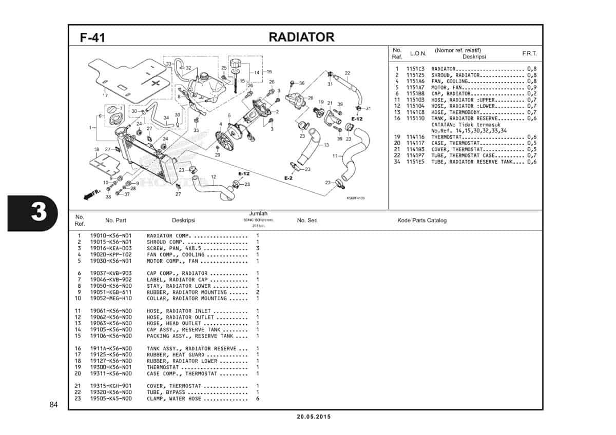 F41 Radiator