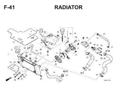 F41 Radiator Thumb