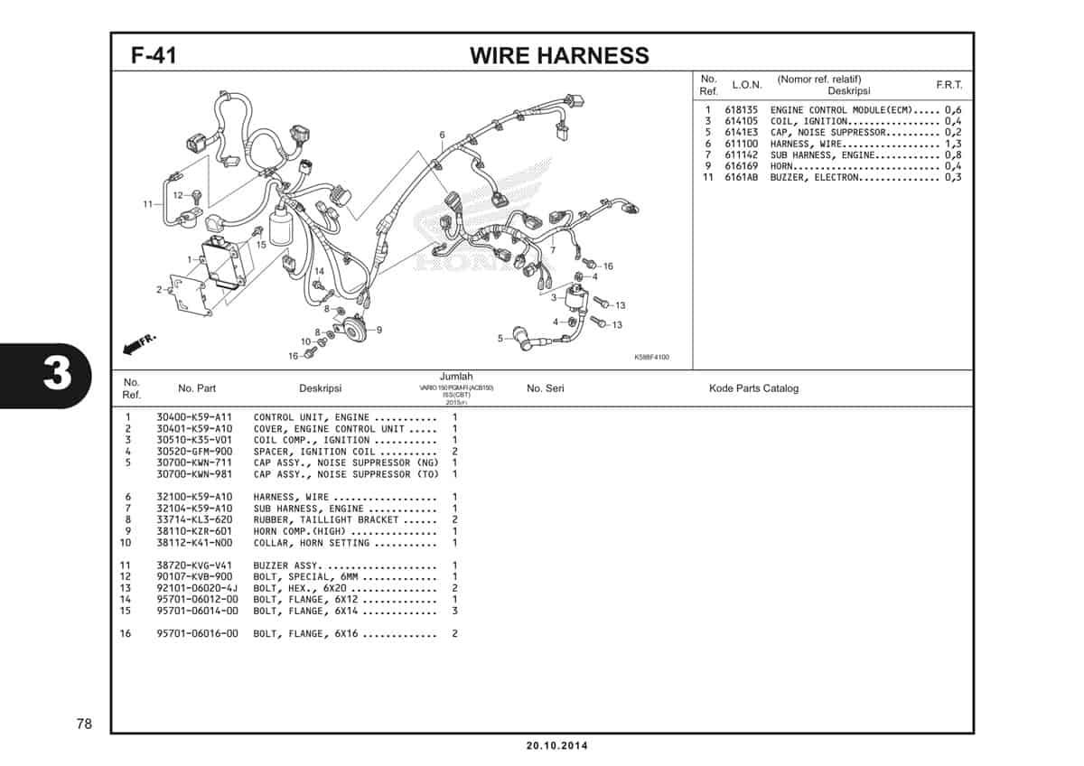 F41 Wire Harness