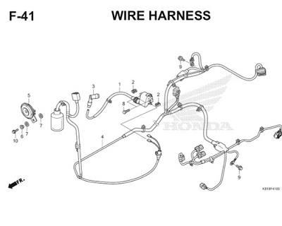 F41 Wire Harness Thumb