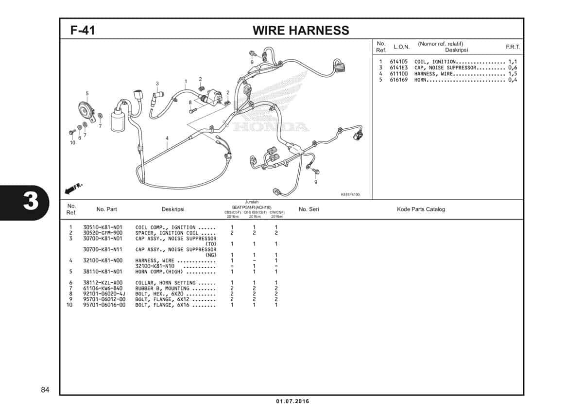 F41 Wire Harness