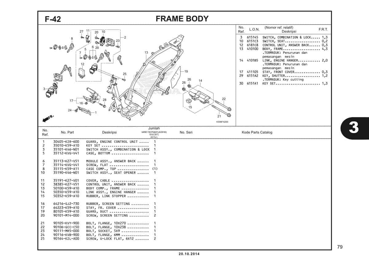F42 Frame Body 1