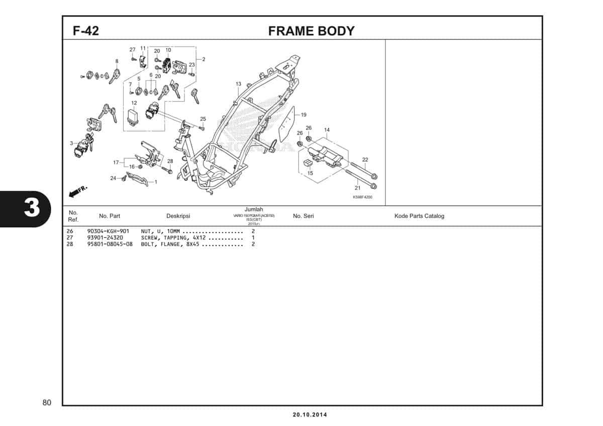 F42 Frame Body 2
