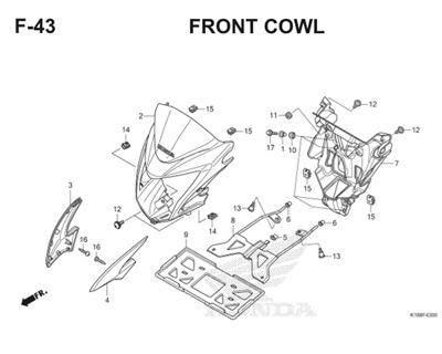 F43 Front Cowl Thumb