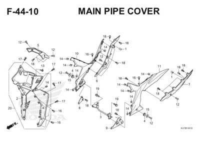 F44 10 Main Pipe Cover Katalog Blade K47 Thumb