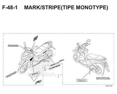 F48 1 Mark Stripe Thumb