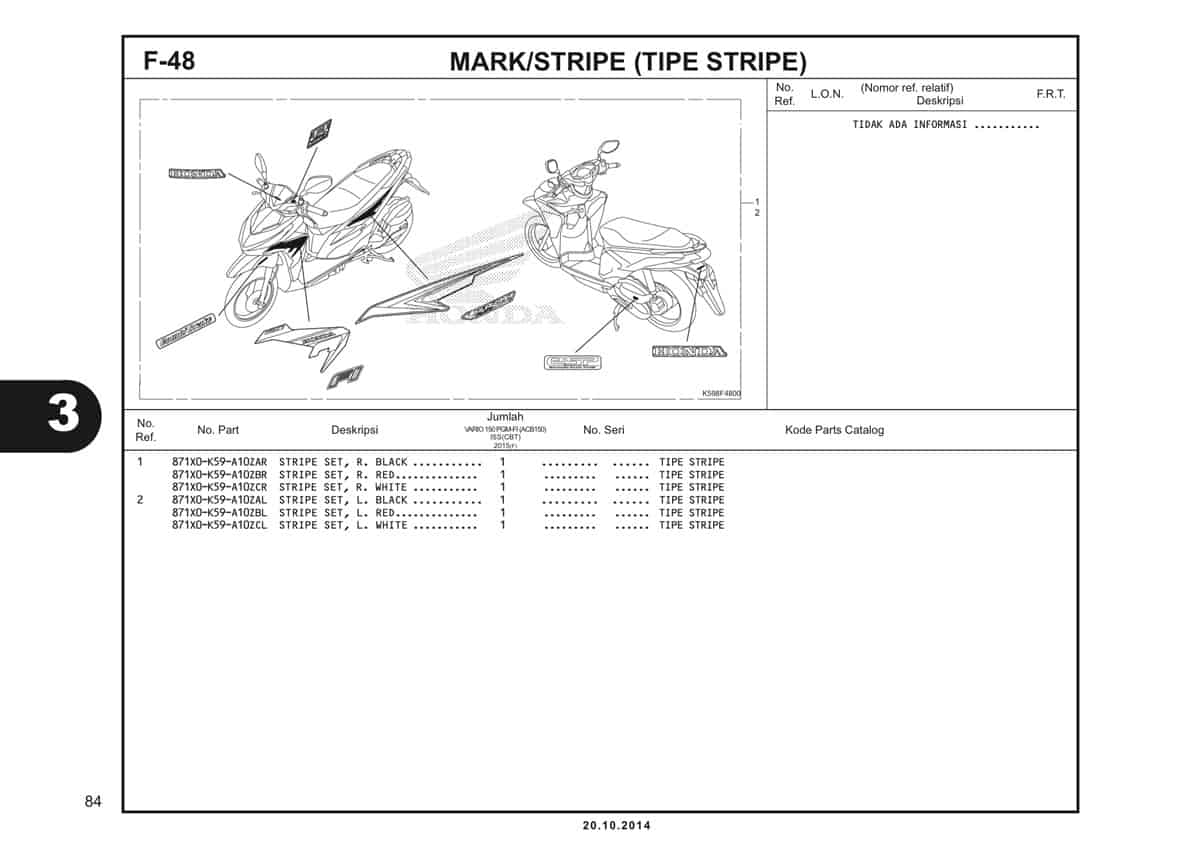 F48 Mark Stripe