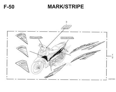 F50 Mark Stripe Thumb