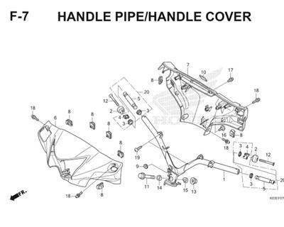 F7 Handle Pipe Handle Cover Thumb