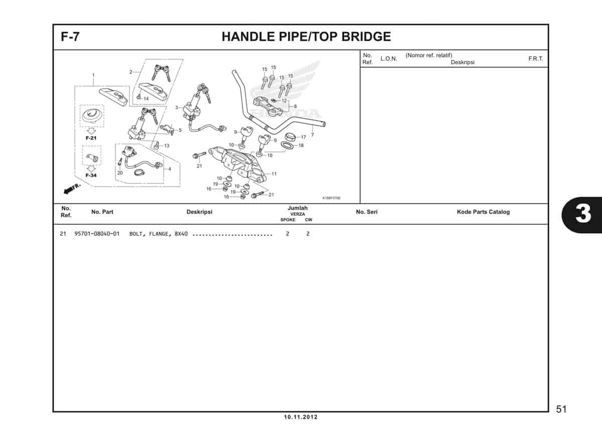 F7 Handle Pipe Top Bridge 2