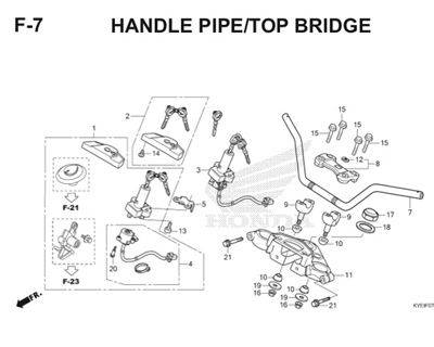 F7 Handle Pipe Top Bridge Thumb