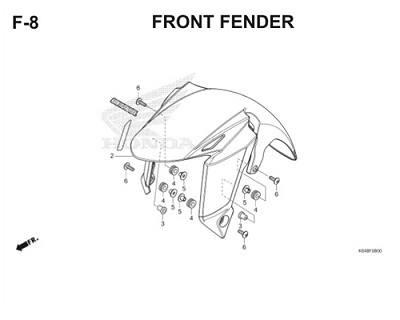 F8 Front Fender Thumb