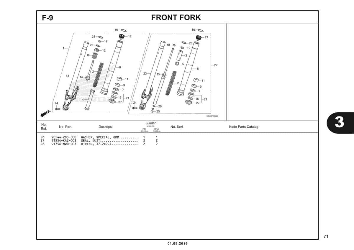F9 Front Fork 2