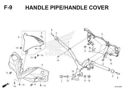 F9 Handle Pipe Handle Cover Thumb