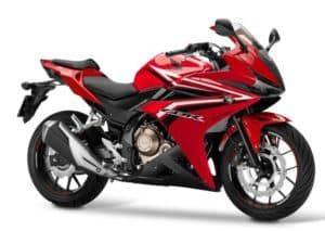 Honda CBR500R Millenium Red