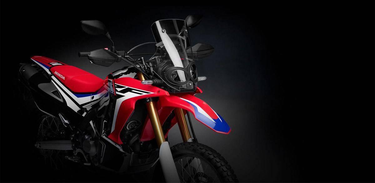 pilihan warna honda crf250 rally