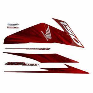 871X0K56N10ZAR Stripe Set R Red