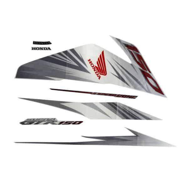 871X0K56N10ZBR Stripe Set R White