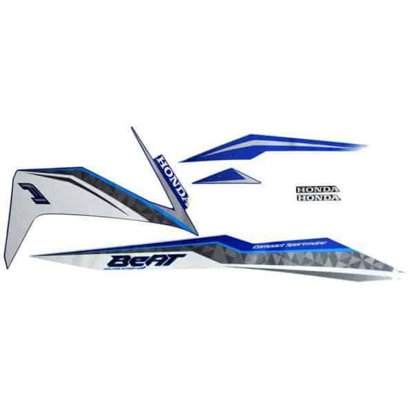 871X0K81N00ZAR Stripe Set Blue White R