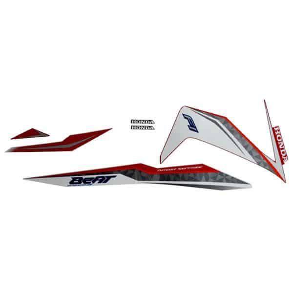 871X0K81N00ZBR Stripe Set Red White R