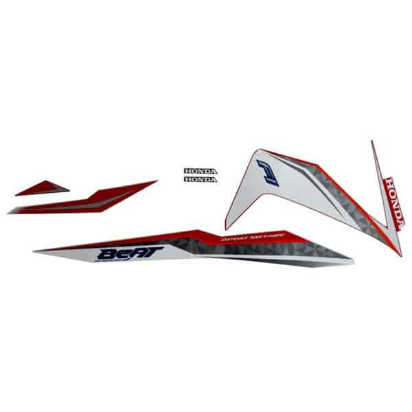 871X0K81N00ZBR Stripe Set Red White R
