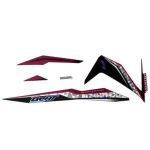 871X0K81N00ZCR Stripe Set Magenta Black R