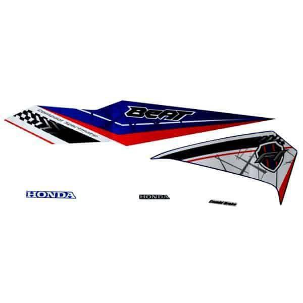 871X0K81N10ZBL Stripe Set Blue White L