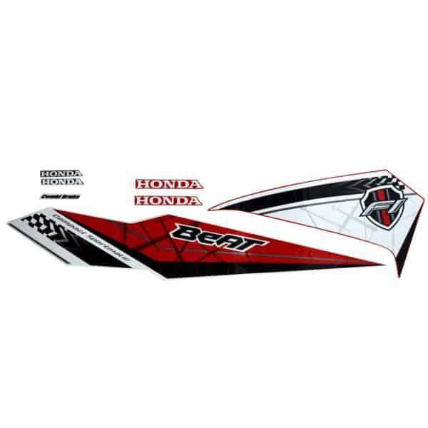 871X0K81N10ZCL Stripe Set Red White L