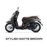 New Honda Scoopy Stylish Matte Brown