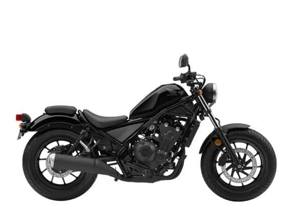Honda Rebel CMX500 Graphite Black