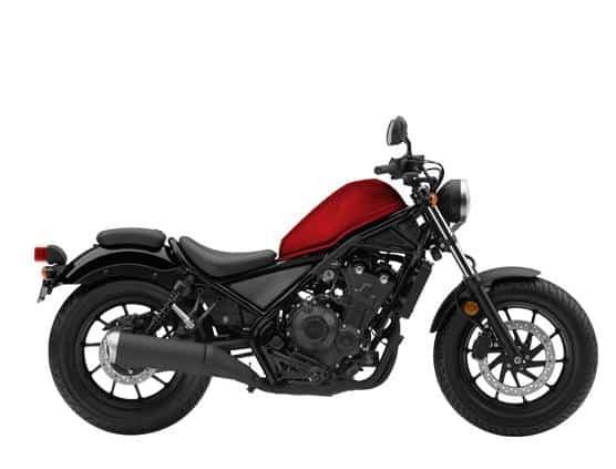 Honda Rebel CMX500 Millenium Red