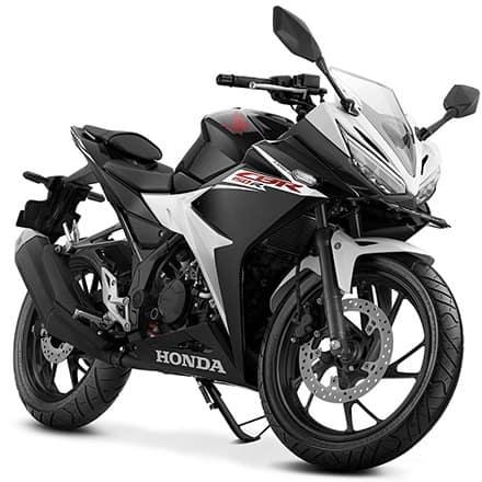 Honda CBR 150R Slick Black White