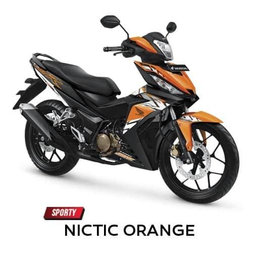 honda supra gtr 150 nitric orange