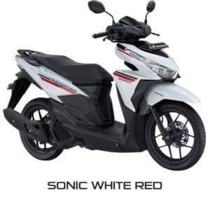 Honda Vario 125 eSP Sonic White Red