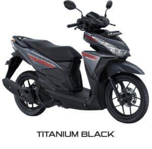 Honda Vario 125 eSP Titanium Black
