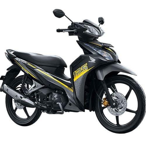 Honda Blade 125 FI R Sporty Yellow