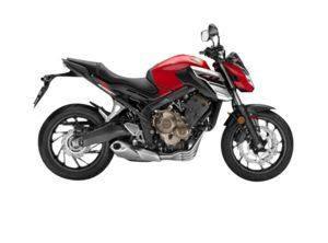 Honda CB650F Millenium Red
